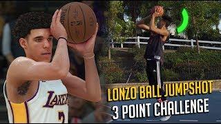 LONZO BALL JUMPSHOT CHALLENGE! ft. 2HYPE