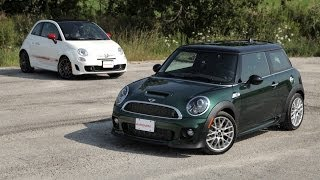 2013 MINI Cooper S Vs. 2013 Fiat 500c Abarth