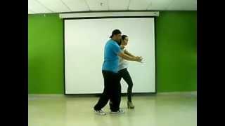 Aprende a bailar salsa. Cruce manos