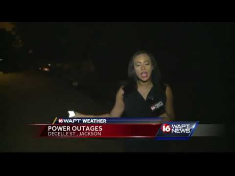 Power outages follow storm