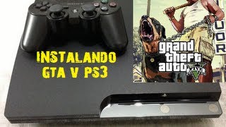 COMO COLOCAR GTA 5 NO HD EXTERNO PS3