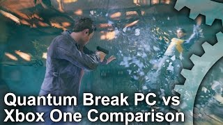 Quantum Break - PC vs Xbox One Graphics Comparison