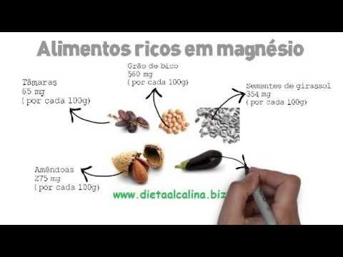 Alimentos ricos em magnésio (TOP)
