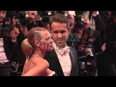 CANNES FILM FESTIVAL 2014 - Blake Lively and Ryan Reynolds on the red carpet of Captives