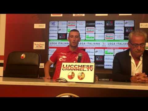 Copertina video Lucchese-Piacenza 1-1, interviste/1