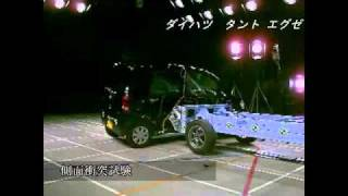 Crash Test 2010 - 20** Daihatsu Tanto / Subaru Lucra (Side Impact) JNCAP