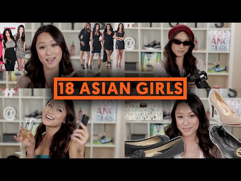 亚裔女孩竟分成十几种?别说里面没有你(视频)