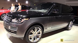 2018 Range Rover SV Autobiography - Exterior and Interior Walkaround - 2017 Frankfurt Auto Show