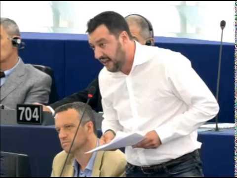 Salvini in tre minuti smonta le euroballe di Renzi