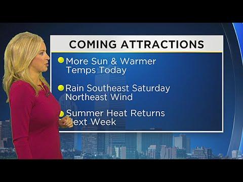 WBZ Morning Forecast For July 28