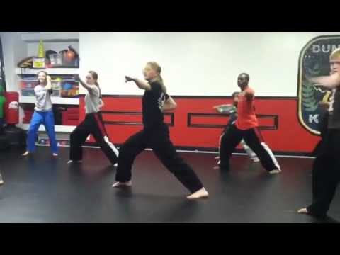 Mackensi Emory's Hyper Form by Hyper Pro Training Students at Dunamis Karate