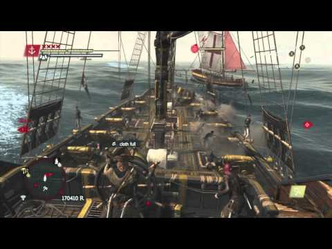 How To Upgrade The Jackdaw Fast in Assassins Creed 4 Black Flag