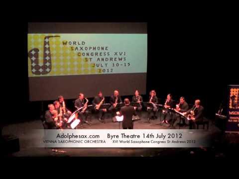 WSCXVI VIENNA SAXOPHONIC ORCHESTRA   Johannes Berauer – Stormy Weather