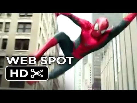 The Amazing Spider Man 2 WEB SPOT - Street Chase (2014) - Andrew Garfield Movie HD