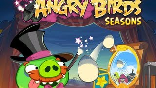 Angry Birds Seasons Abra Ca Bacon All Levels 1-1 To 1-15
