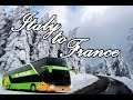 ITALY to FRANCE in Flixbus What an Amazing