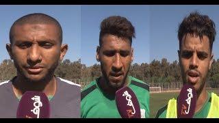 بالفيديو:لاعبو الدفاع الحسني الجديدي يتوعدون الرجاء في نهائي كأس العرش | بــووز