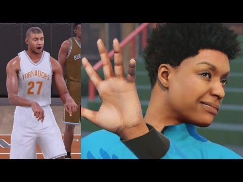 NBA 2K16 PS4 My Career - Creation of Chris Smoove!