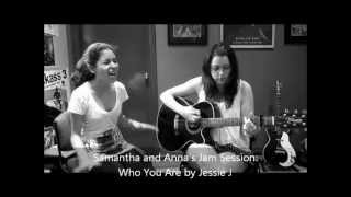 Jam Sessions: Who You Are cover by Anna and Samantha view on youtube.com tube online.