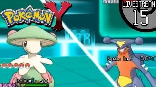 Pokemon X And Y Livestream #15: Breloom, Get The Broom