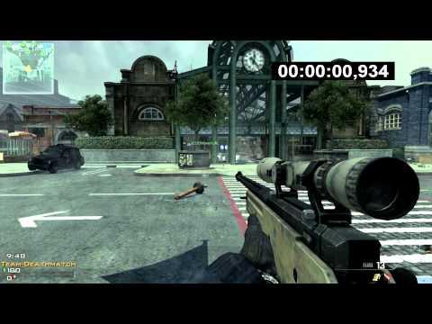 MW3: FASTEST KILL EVER: 0.934 sec!! First Blood | WORLD RECORD
