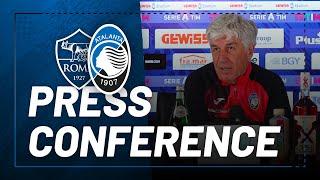 32ª #SerieATIM | Roma-Atalanta | La conferenza stampa di Gian Piero Gasperini