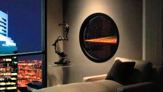 Heat & Glo Gas Modern Collection: Solaris Circular Fireplace