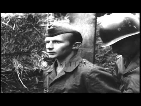 German spy Stephan Kortas is executed by Military Policemen and is carried away c...HD Stock Footage