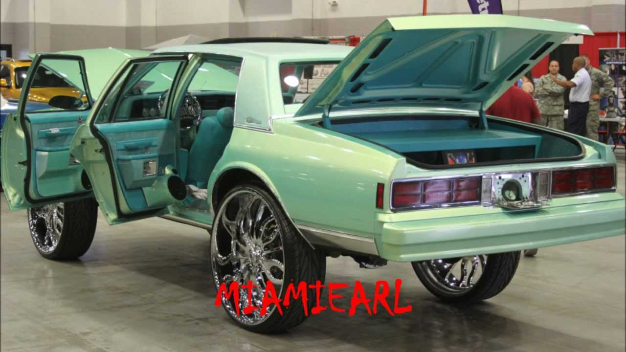 """Outrageous Box Chevy LS Brougham on 30"""" Asanti's- X102.3 ..."""