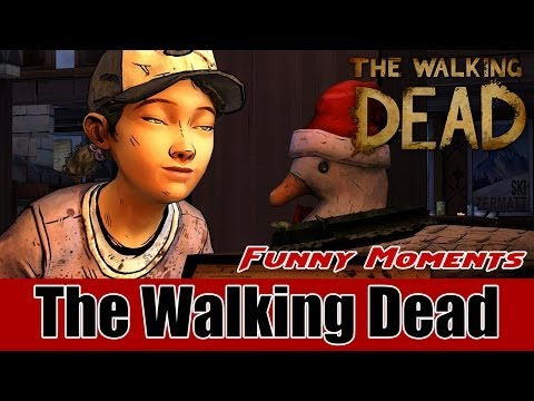 The Walking Dead Season 2 Episode 2: A House Divided - BADASS and Funny Moments