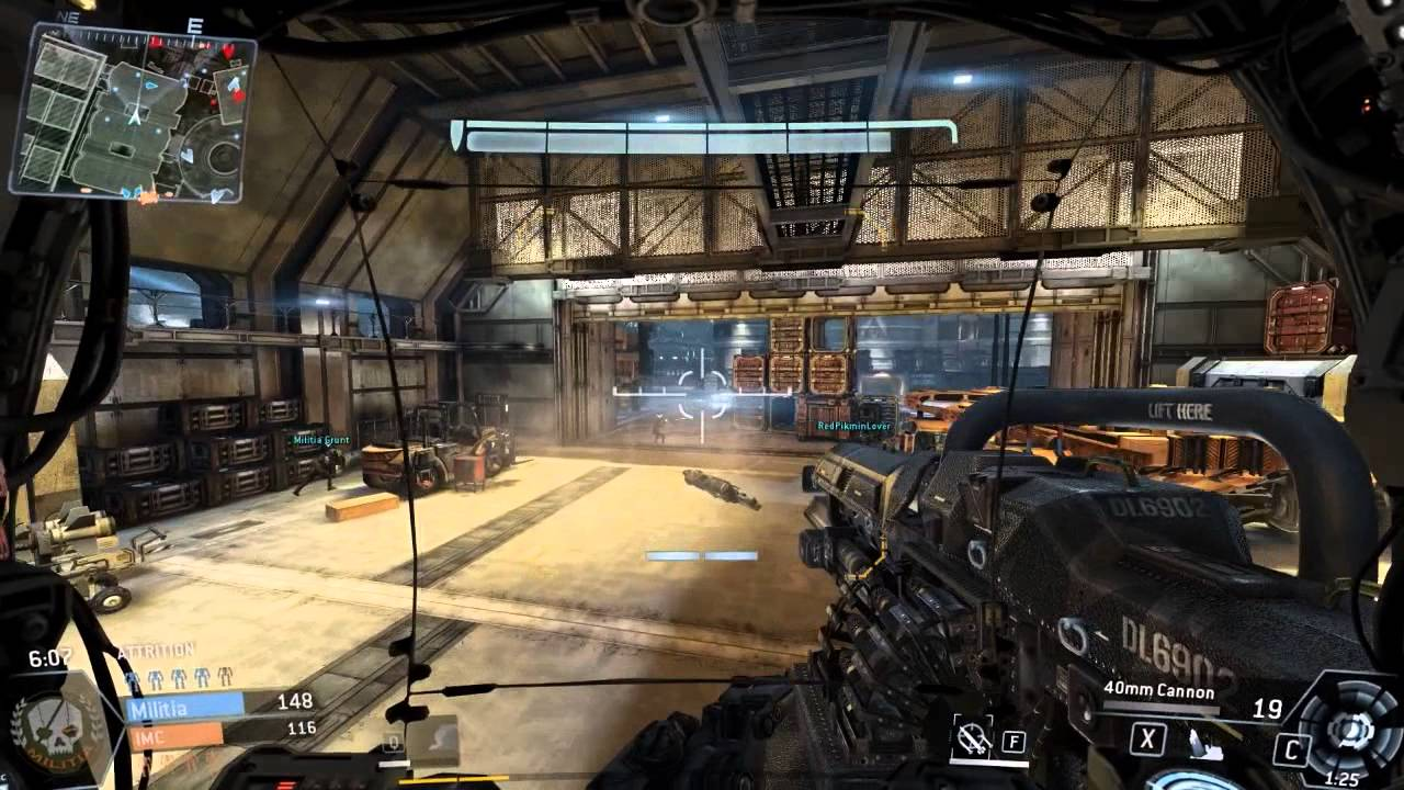 r97 smg titanfall tdm attrition airbase w commentary