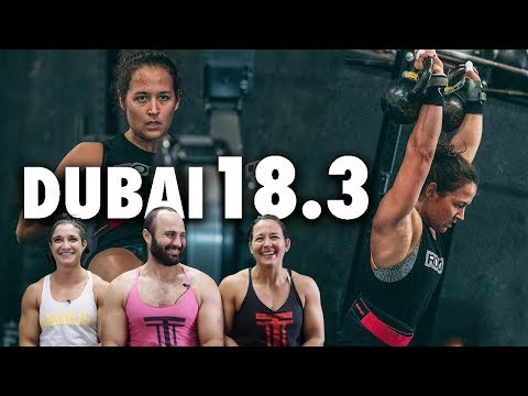 Dubai CrossFit Championship Qualifier 18.3 (Brandi + Cal) | The Session Ep.16