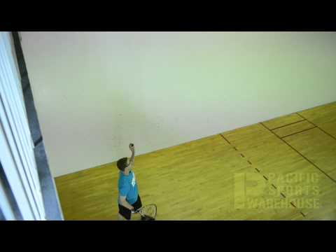 Hit a Forehand Ceiling Ball in Racquetball