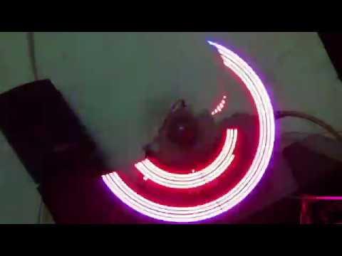 LED WHEEL Độ led xe led quay hiện chữ và hình trên bánh xe led quay quảng cáo trang trí - 0982233151