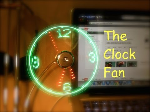 Clock Fan unboxing and thoughts