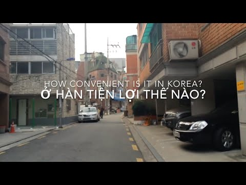 [Exchange in Korea] Cửa hàng tiện lợi - How convenient is it in Korea?