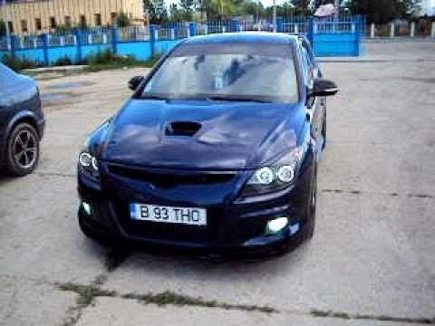 Hyundai I30 Exhaust Diesel Tuning Youtube