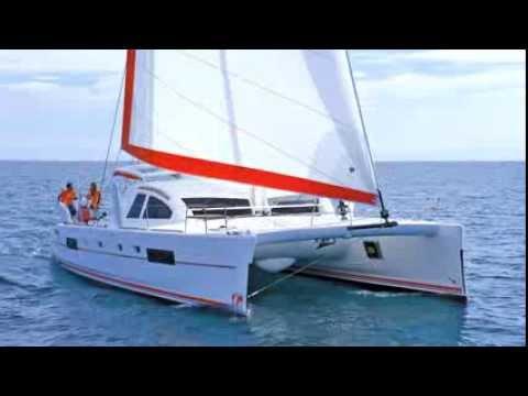 Catana Catamarans Sail Range - watch a Catana 47 sailing at 19.6 knots!