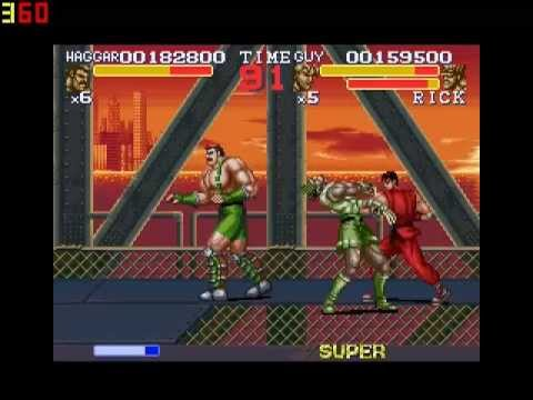 Zerando final fight 3