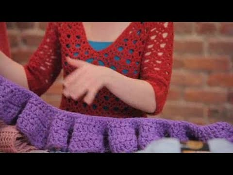 Youtube Crocheting A Scarf : How to Crochet a Scarf Crocheting - YouTube