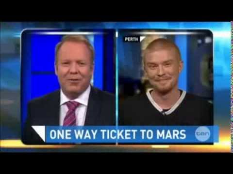 The Project - Mars One Feature with Josh Richards interview
