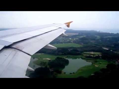 D04:  TIGER AIRWAYS:     LANDING IN SINGAPORE