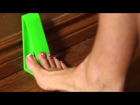How to use the J Wedge to eliminate plantar fasciitis pain.