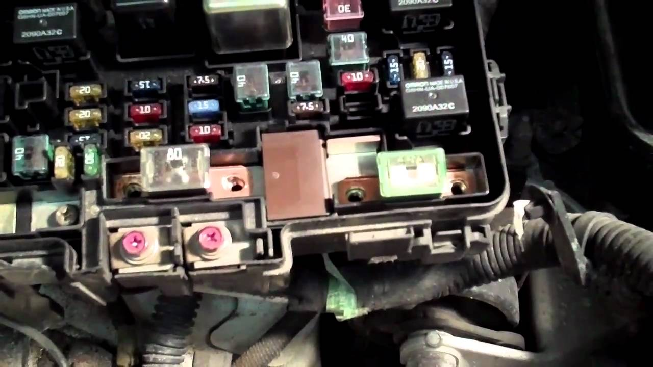 headlight wiring harness diagram how to fix the p1298 electric load detector on your honda  how to fix the p1298 electric load detector on your honda