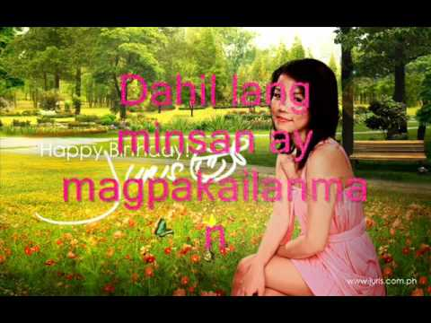 Minsan Lang Kita Iibigin - Juris (HQ)  With Lyrics