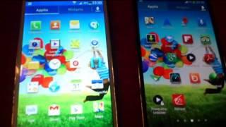 Real Vs Fake: Clone HDC Galaxy S4 Legend Vs Original