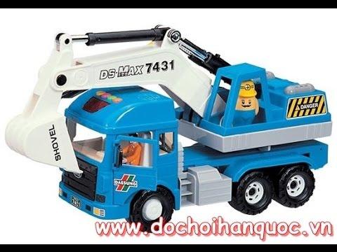 Xe cần cẩu máy xúc Deasungtoys - dochoihanquoc.vn - 04.6278.3521