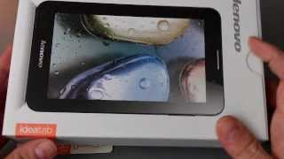 Unboxing Tablet Lenovo IdeaTab A3000h 3G + Microsd 32GB