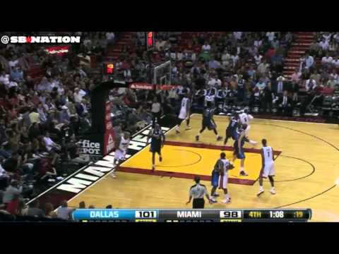 Shawn Marion, Dallas Mavericks isolation defense LeBron James