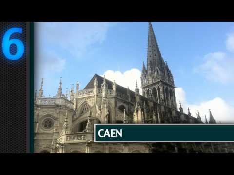 Top 10 Places in Normandy, France according to DK